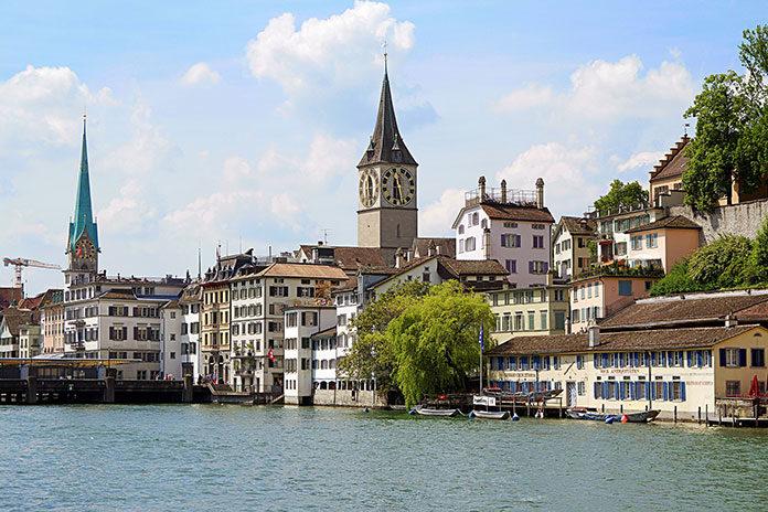 Zamieszkanie w Zurychu
