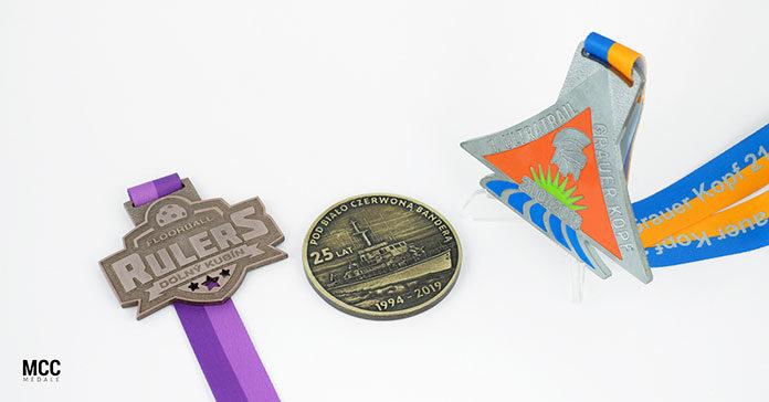 Jakie medale wybrać - gotowe, czy wykonane na zamówienie?