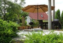 solidny parasol ogrodowy