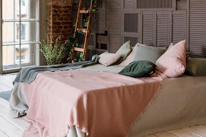 Tkaniny bawełniane we wnętrzach