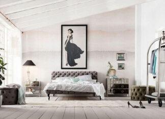 Łóżko z zagłówkiem czy bez