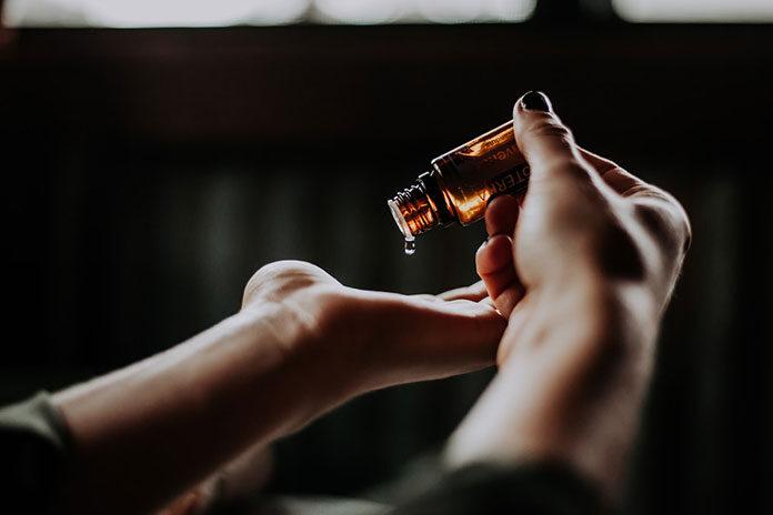 Aromaterapia z użyciem CBD