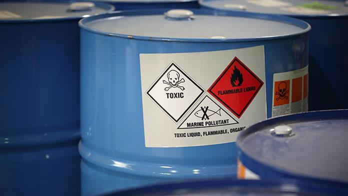 Zasady oznakowania opakowań produktów niebezpiecznych